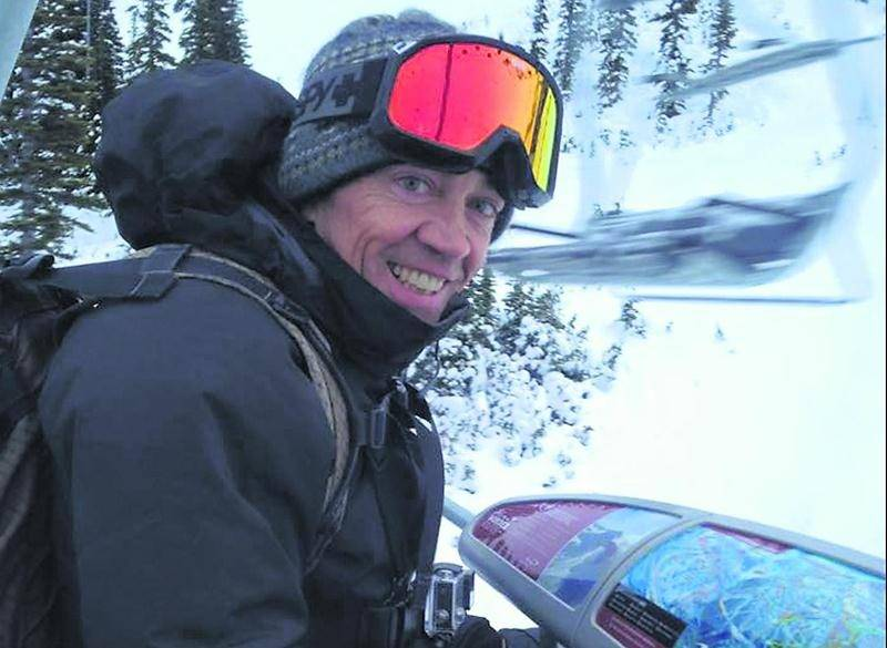 Pierre Jetté, à la conquête du centre de ski Whistler Blackcomb. Photo Facebook