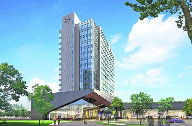 L'hôtel Sheraton de Saint-Hyacinthe sera classé 4 étoiles et comptera 205 chambres, dont 28 suites.