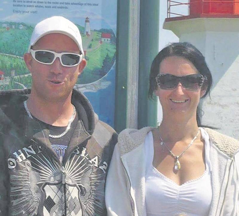 Maxime Labrecque et Isabelle Lavoie. Photo Facebook