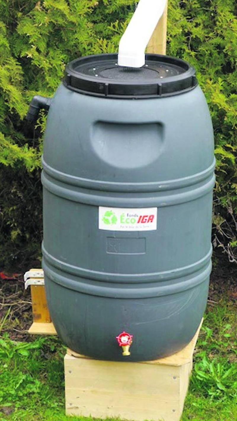 Les Maskoutains désireux de se procurer un baril récupérateur d'eau de pluie peuvent s'inscrire dès maintenant en ligne afin de courir la chance de remporter un baril au coût de 30 $ (valeur de 85 $).