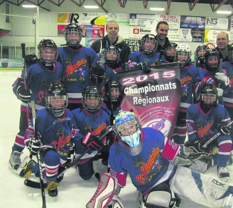 Les Maskas atome C est la seule équipe de Saint-Hyacinthe à participer au championnat interrégional de hockey mineur à Drummondville cette semaine.