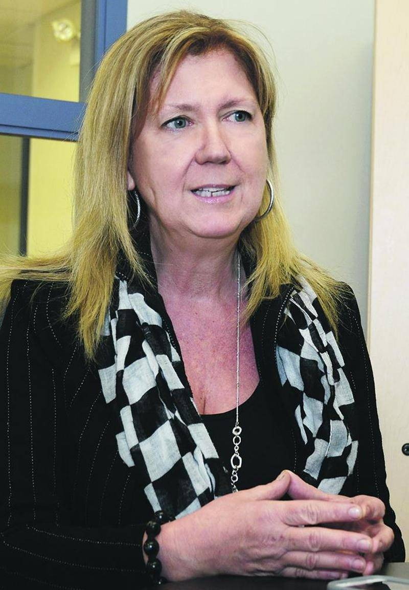 Josée Desmarais est la confondatrice et la codirectrice du Groupe Vertige de Saint-Hyacinthe.  Photo François Larivière | Le Courrier ©