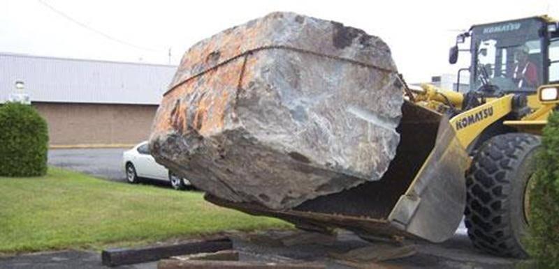 L'histoire de la garnotte de 20 tonnes fait boule de neige.