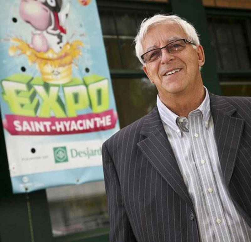 Richard Robert, secrétaire général de la Société d'agriculture de Saint-Hyacinthe.