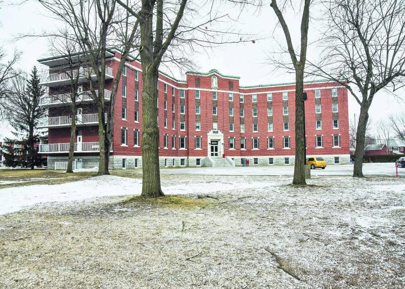 Le siège social d'Olymel situé sur l'avenue Pratte à Saint-Hyacinthe Photo François Larivière   Le Courrier ©