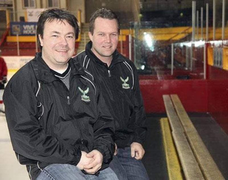 Patrick Arcand, directeur général des Lauréats, et Stéphane Donais, entraîneur-chef, sont fiers du travail accompli lors de cette première saison pour la concession.