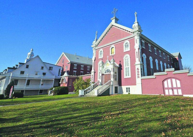 Le monastère du Précieux-Sang, rue Girouard Ouest.