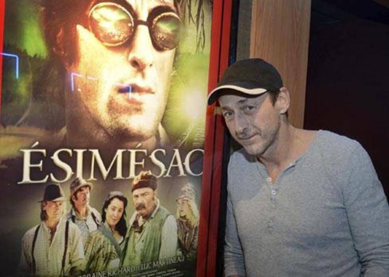 Le réalisateur et acteur Luc Picard lors de l'avant-première d'<em>Ésimésac</em> présentée à Saint-Hyacinthe.
