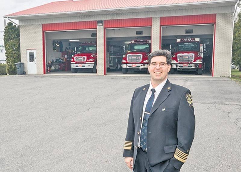 Le directeur du Service des incendies de Saint-Jude, Francis Grégoire, invite tout le monde à venir se régaler au souper du 26 mai.