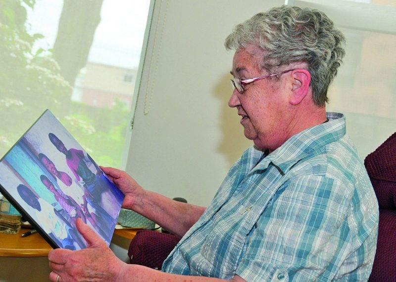 Sr Marguerite Aussant, des Sœurs de Saint-Joseph de Saint-Hyacinthe, s'est impliquée pendant plus de vingt ans pour aider Haïti. Photo François Larivière | Le Courrier ©