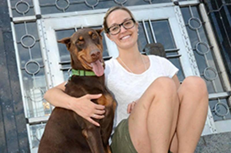 De nageuse synchronisée olympique à médecin vétérinaire