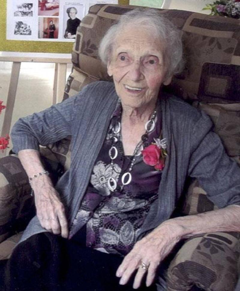 C'est en compagnie de tous ses enfants, jusqu'à ceux de la cinquième génération, que Rose Pelletier-Lagacé a fêté son centenaire le 3 août. Félicitations!