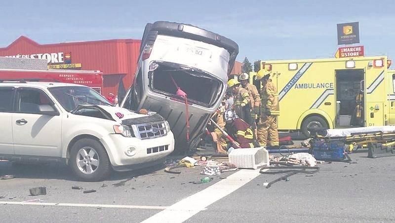 Malgré une baisse du nombre d'accidents sur nos routes (11 %), ceux avec blessés graves ont été six fois plus élevés qu'en moyenne ces quatre dernières années. Photothèque | Le Courrier ©