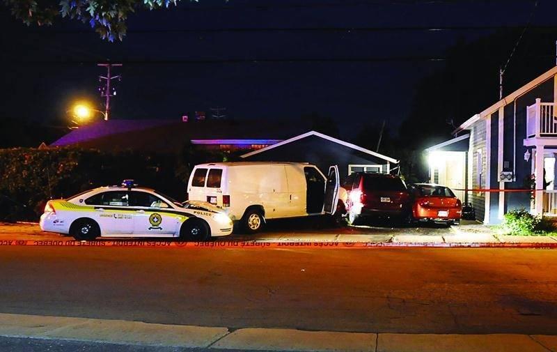 La folle course a pris fin sur la rue Saint-Edgard à Drummondville, où une femme dans la vingtaine et un homme dans la trentaine ont été arrêtés. Photo Éric Beaupré