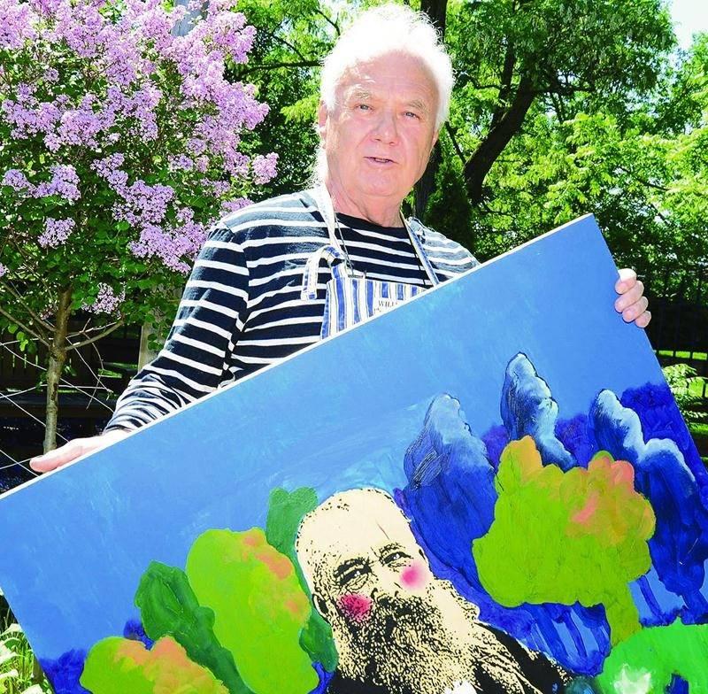 Avec Monet s'invite au jardin l'artiste-peintre et dessinateur Jean Gladu propose trois journées-hommage au célèbre père de l'impressionnisme. Photo François Larivière | Le Courrier ©