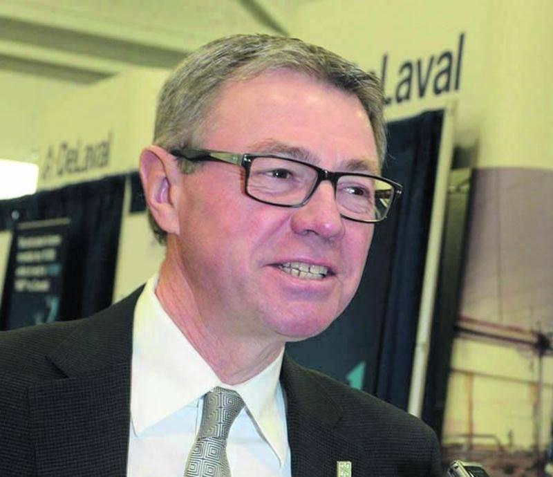 Le maire de Saint-Hyacinthe, Claude Corbeil.  Photo François Larivière   Le Courrier ©