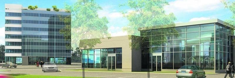 Un croquis de la première phase du Complexe Johnson de 30 M$.