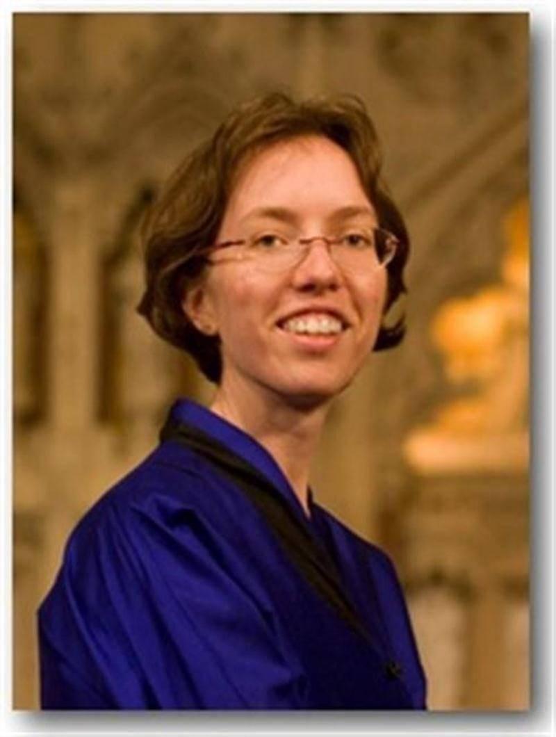 L'organiste Isabelle Demers.