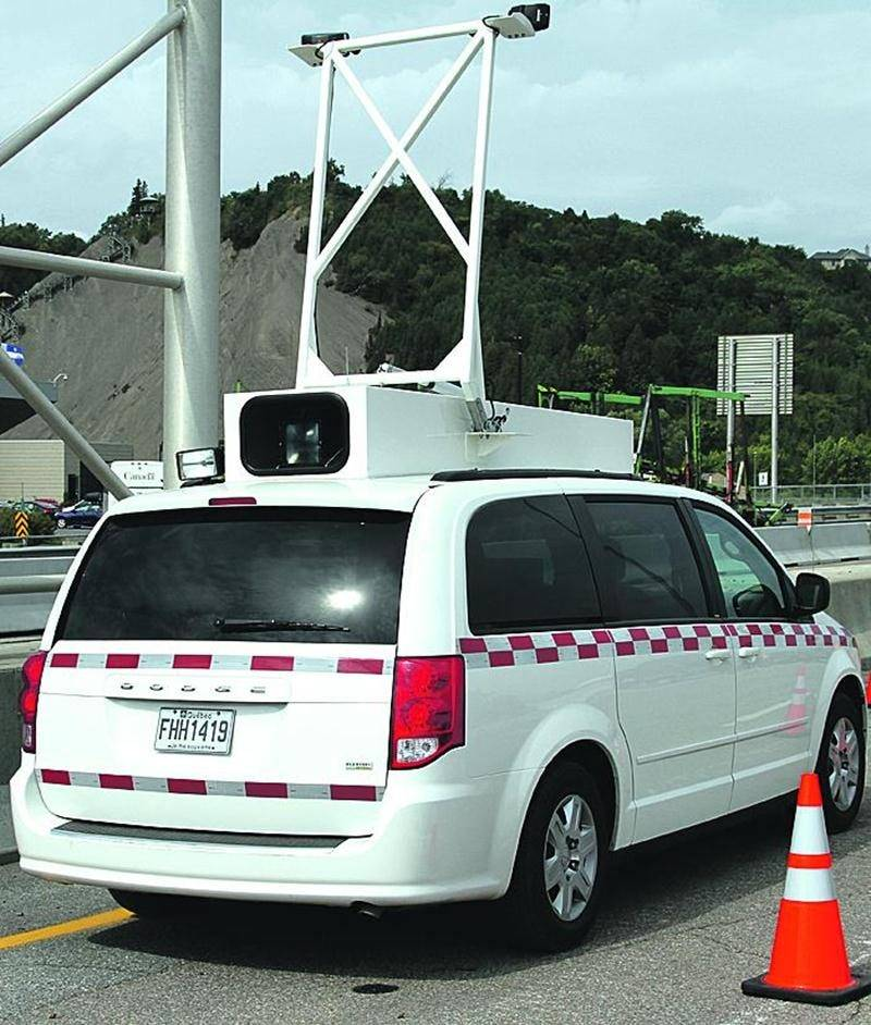 Des radars photo mobiles seront présents à Saint-Dominique et Sainte-Marie-Madeleine dès les prochaines semaines. Photo Courtoisie MTQ