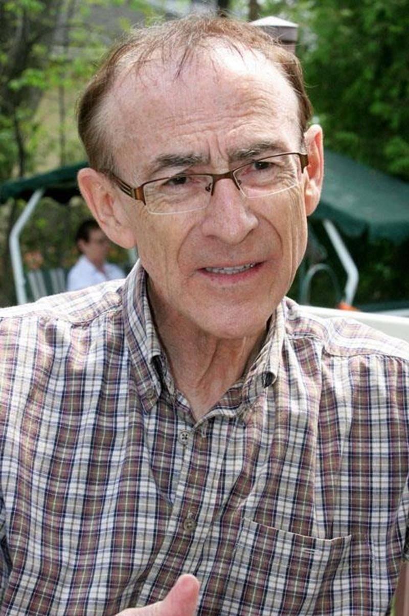 L'ancien député péquiste de Saint-Hyacinthe, Léandre Dion.