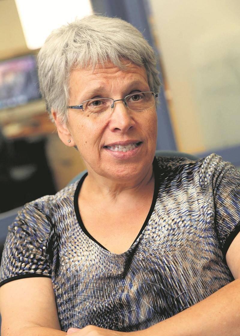 La députée de Saint-Hyacinthe / Bagot à la Chambre des Communes, Brigitte Sansoucy.   Photothèque Le Courrier