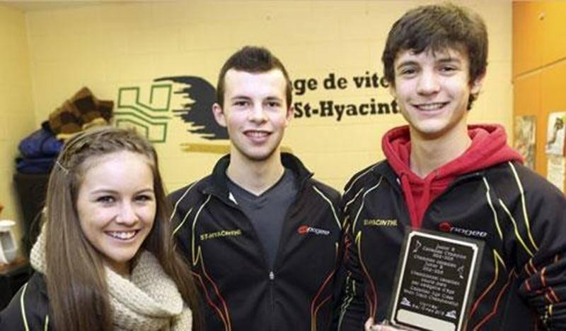 Rosemarie Charest, Olivier Godin et Simon Godin ont chacun connu de beaux moments durant la saison de patinage de vitesse.