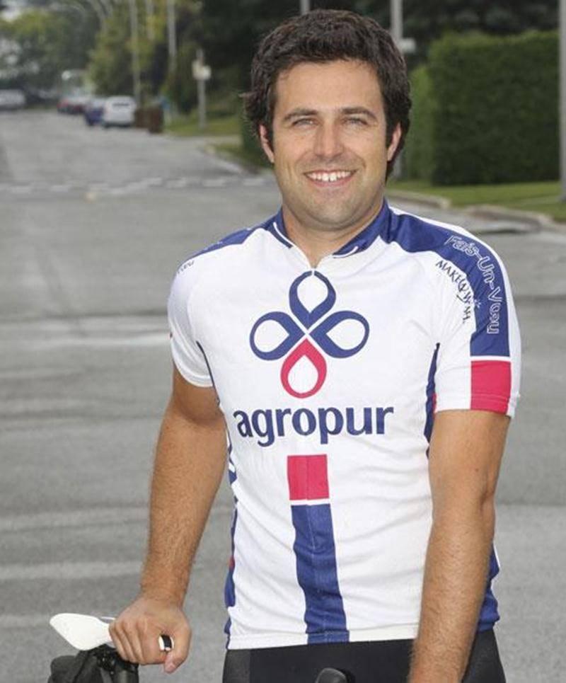 Pierre Morin roulera durant près de 8 h dans un relais de 48 h en équipe sur le Circuit Gilles-Villeneuve organisé au profit de la fondation Fais-Un-Voeu.