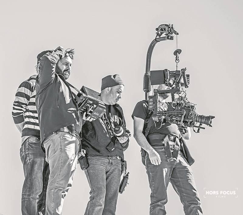 Maxime-Claude L'Écuyer présente son 6e court-métrage avec Squad Leader TD-7328 Soliloquy. Photo Martin Legault
