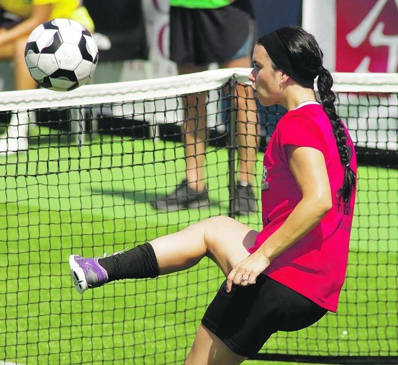 Andréanne Gagné lancera son académie, dédiée aux jeunes joueuses de soccer, en octobre. Photothèque | Le Courrier ©