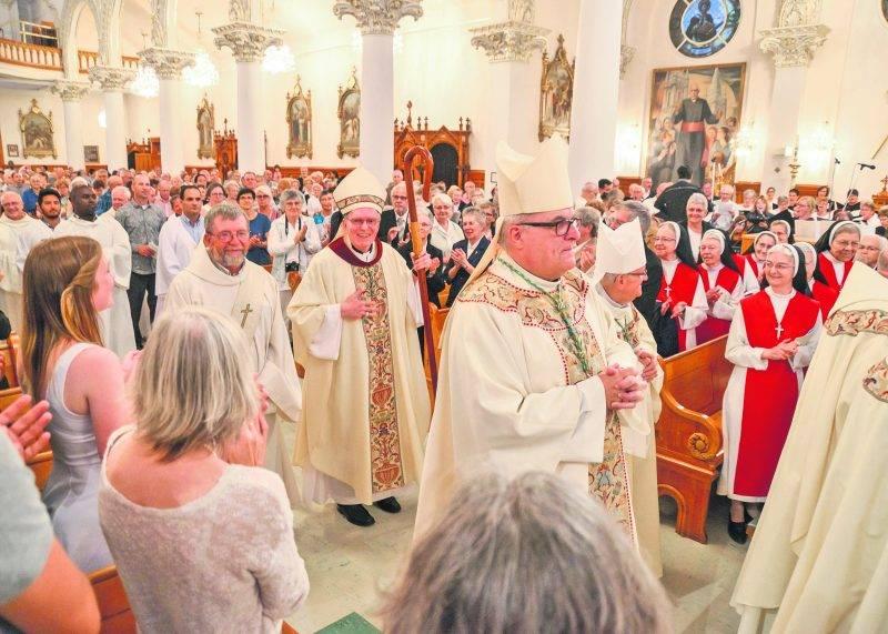 Le diocèse de Saint-Hyacinthe se prépare à la transition vers son 12e évêque.Photo François Larivière | Le Courrier ©