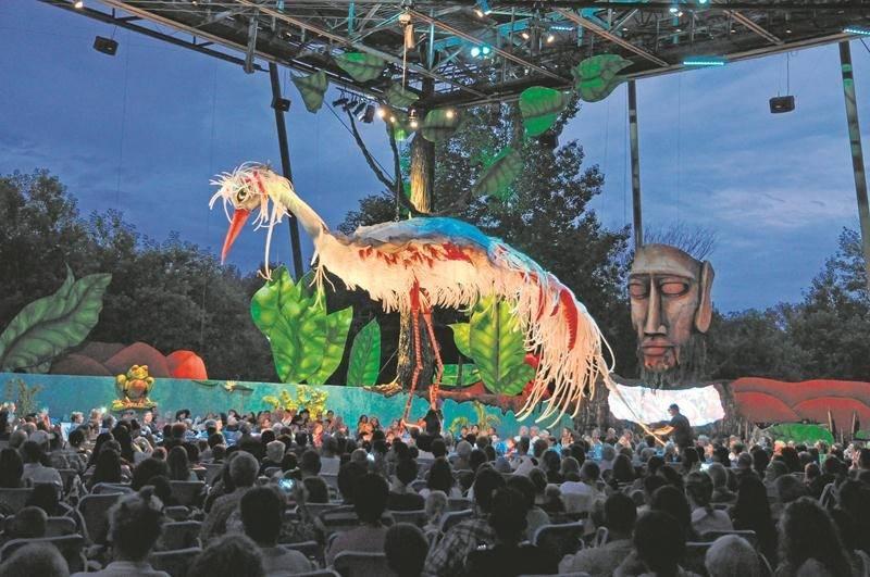 Le Théâtre de la Dame de Cœur présentera, dès le 5 juillet, la seconde saison des « Géants de l'Étang ». (photo: Théâtre de la Dame de Cœur)