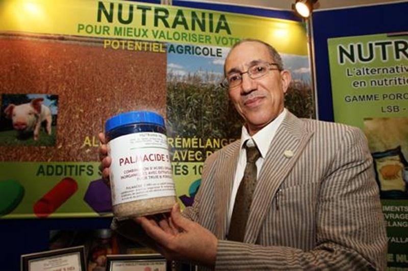 Brahem Bouaou, dirigeant de l'entreprise Nutrania.