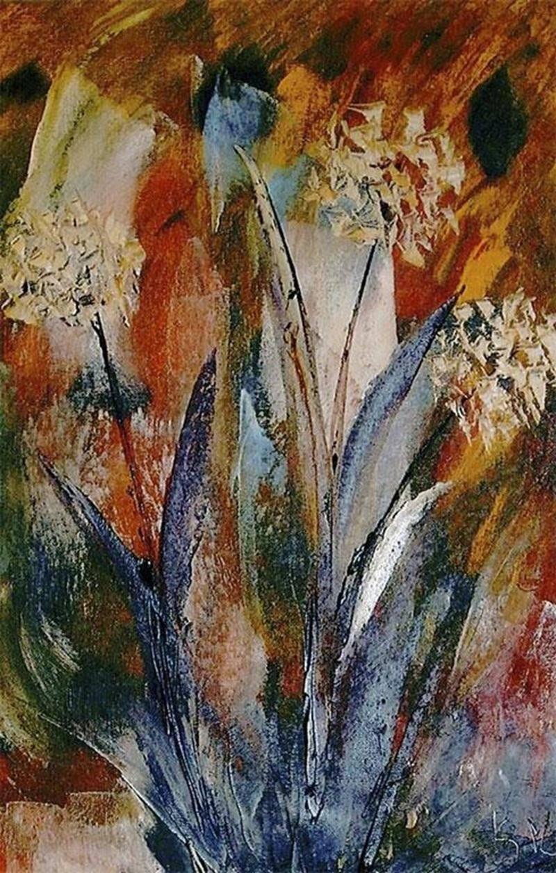 Tourisme et congrès Saint-Hyacinthe accueille le duo d'artistes maskoutaines Francine Martin et France Michaud-Langelier jusqu'au 7 décembre dans son aire d'exposition. Retraitée de la Banque Nationale, Francine Martin est une passionnée de la peinture à l'huile depuis 11 ans. Membre de l'Atelier libre de peinture de Saint-Hyacinthe depuis maintenant huit ans, elle adore peindre des paysages, des maisons, des fleurs ou encore des thèmes abstraits. Sa palette lumineuse donne naissance à des oeuvr