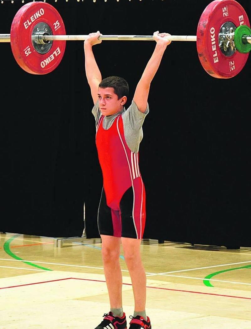 Shad Darsigny, 12 ans, était le plus jeune participant à la compétition. Photo François Larivière   Le Courrier ©