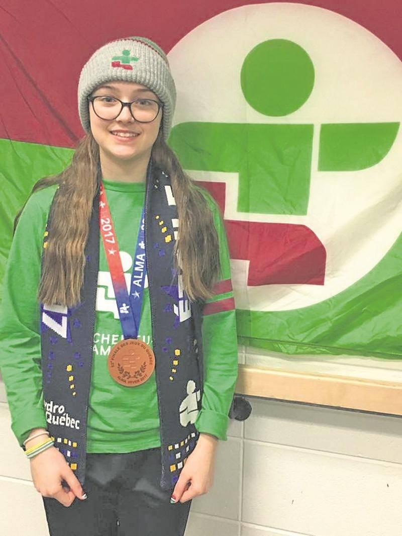 En patinage de vitesse, Roselyne Pigeon a remporté une médaille de bronze au 1 500 m.
