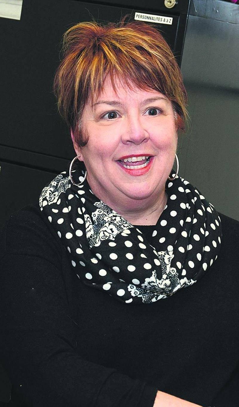 Annie Pelletier, candidate à l'élection partielle dans Saint-Sacrement. Photo François Larivière | Le Courrier ©