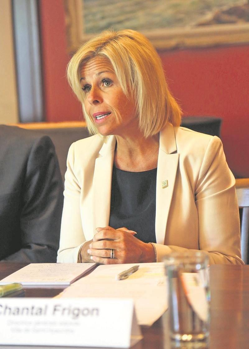 Chantal Frigon, aujourd'hui directrice générale adjointe à la Ville de Saint-Hyacinthe, avait été aux premières loges des interventions de la municipalité durant la crise du verglas.  Photothèque | Le Courrier ©