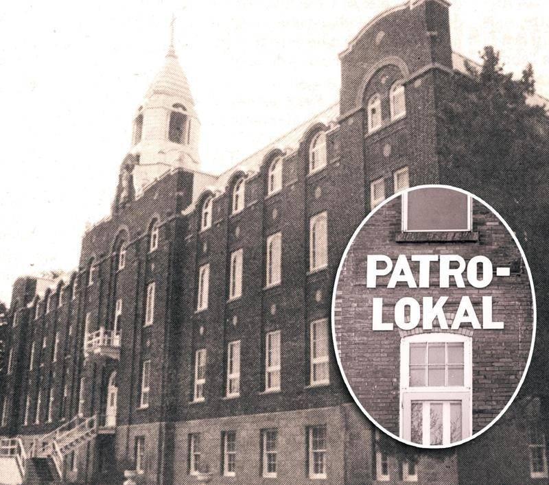 Des Frères maristes établis à Saint-Hyacinthe auraient abusé d'adolescents vivant au Patro Lokal, une ressource d'hébergement située sur la rue Pratte entre les années 1970 et 1986.  Photo Centre d'histoire de Saint-Hyacinthe