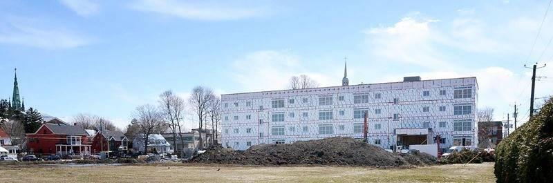 Le parc immobilier résidentiel de Saint-Hyacinthe pourrait s'enrichir de quelque 2 000 portes au cours des prochaines années. Photo François Larivière | Le Courrier ©