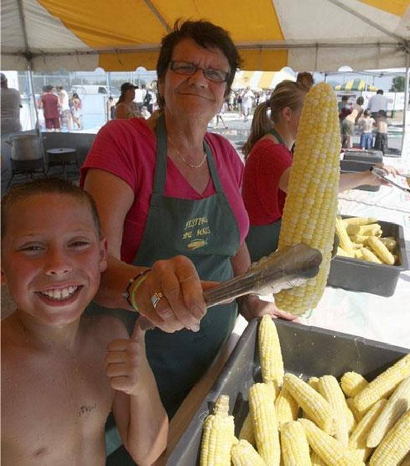 L'an dernier, près de 24 000 épis de maïs avaient été servis lors du festival.