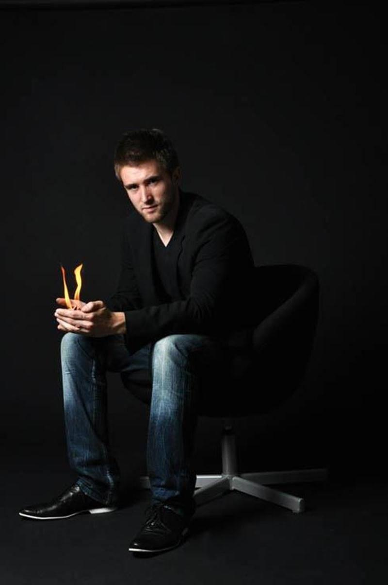 Le magicien David Jodoin présente <em>Vrai</em> au Zaricot.