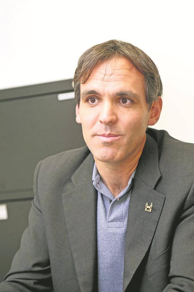 David Bousquet, conseiller sortant dans Sacré-Cœur. Photo Robert Gosselin | Le Courrier ©