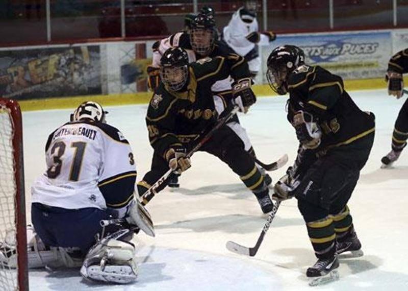 Les Gaulois sont venus à bout d'éliminer les Estacades de Trois-Rivières lors du 6<sup>e</sup> match de la série quart de finale.