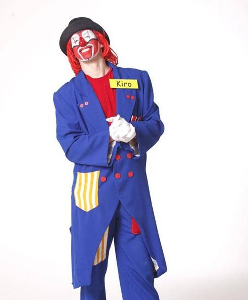 Kiro le clown sera à la Foire du livre le samedi 24 mars pour le lancement de son 1<sup>er</sup> DVD-livre.
