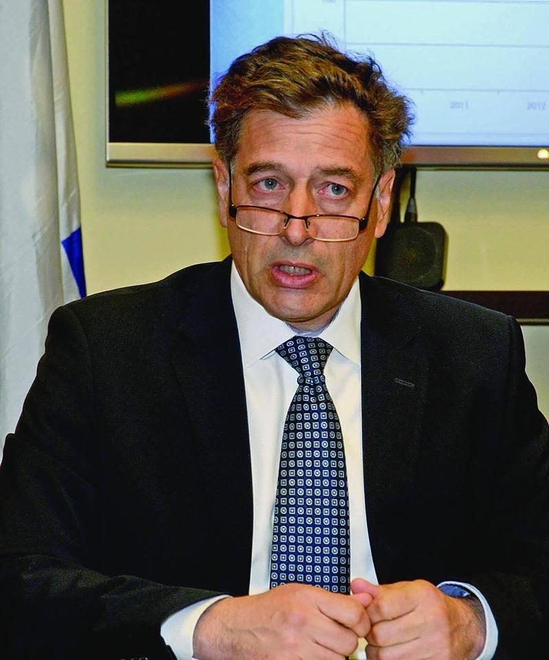 Le directeur général de Saint-Hyacinthe Technopole, André Barnabé. Photothèque | Le Courrier ©