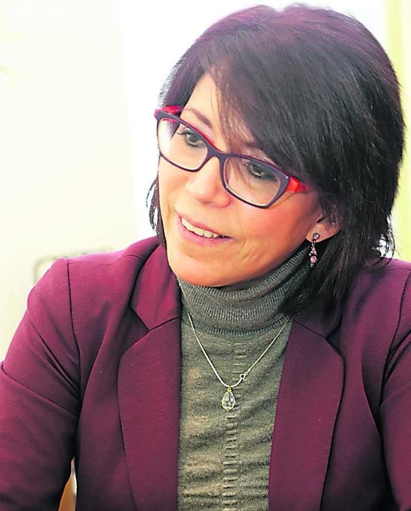 La directrice générale de l'organisme Forum 2020, Ana Luisa Iturriaga. Photo Robert Gosselin   Le Courrier ©