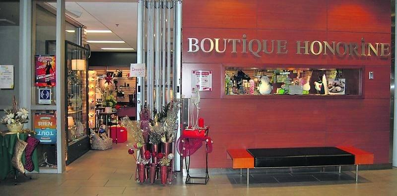 Les jours sont comptés pour la boutique Honorine, située à l'entrée de l'Hôpital Honoré-Mercier, qui fermera ses portes le 15 janvier.   Photo CSSSRY