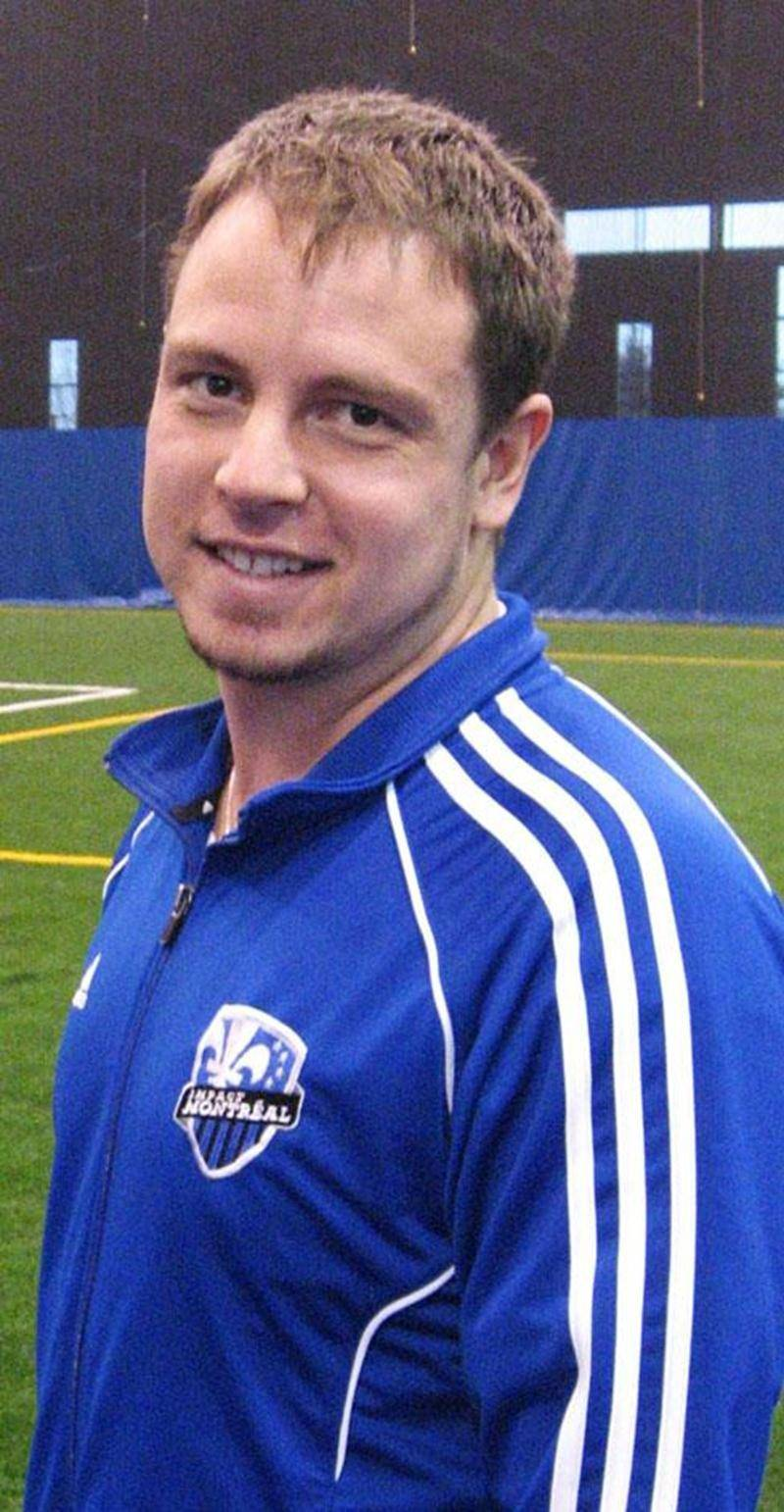 Le Maskoutain Nicolas Gagnon est prêt à relever un nouveau défi avec l'équipe U-21 de l'Académie de l'Impact de Montréal.