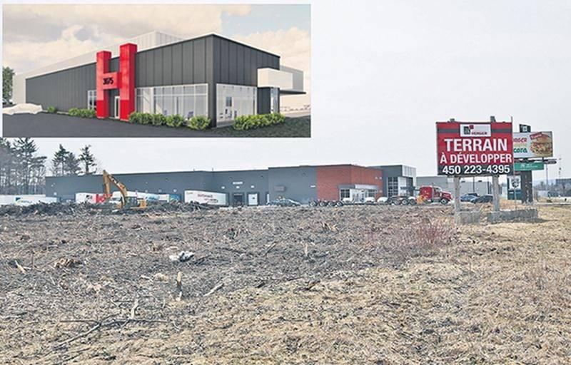 La construction d'un nouvel entrepôt destiné au secteur agroalimentaire débutera sous peu sur la rue Picard à Saint-Hyacinthe.