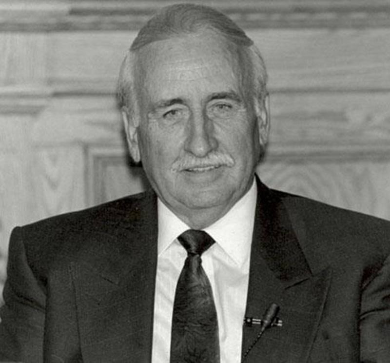 Laurier Comtois, conseiller à Saint-Hyacinthe de 1980 à 1996.